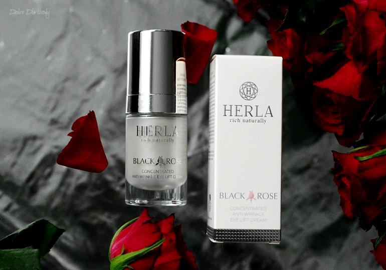 Herla Black Rose Skoncentrowany Przeciwzmarszczkowy Krem Liftingujący do okolic oczu naturalna pielęgnacja
