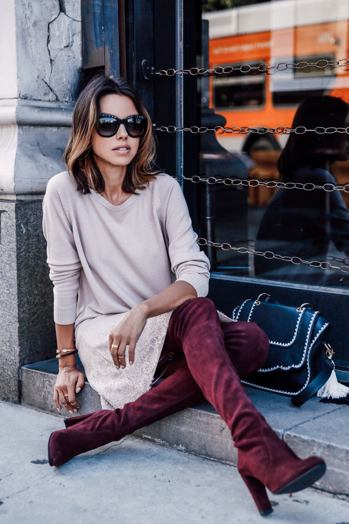 BURGUNDY & PINK FASHION