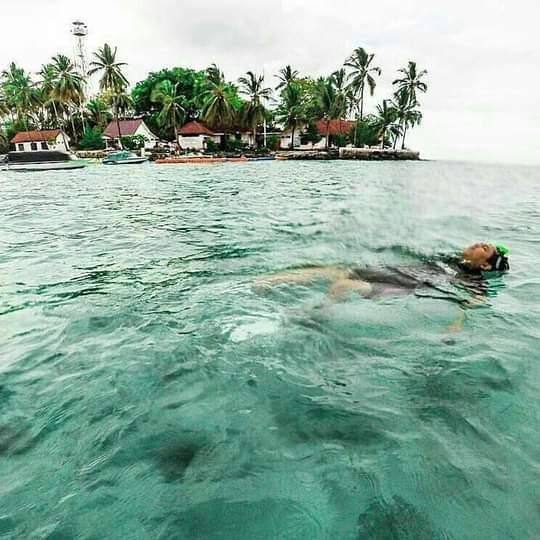 htm wisata alam bawah laut pulau samber gelap