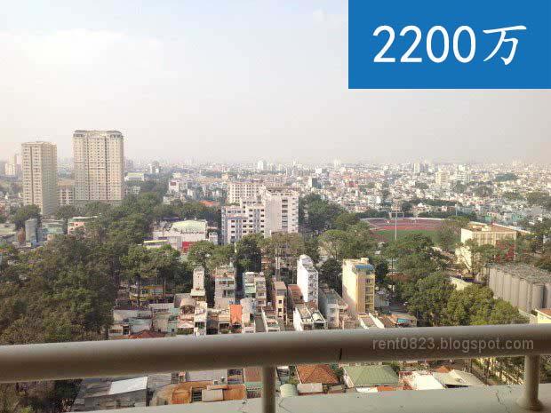 第五郡房屋出租 | 胡志明市房屋出租在Hung Vuong Plaza | 三房 ,繁荣, 华人区,高楼,朝公园树木景观