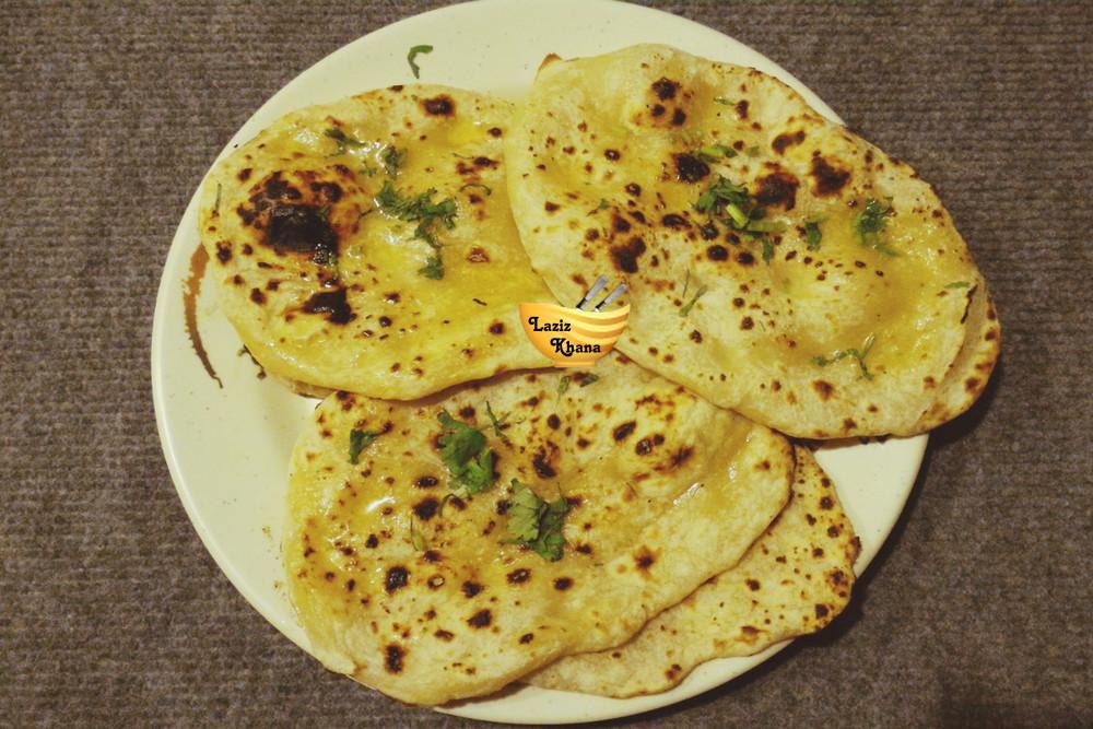 Butter Naan Recipe in Hindi