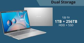 Asus 15 A516 fitur dual storage