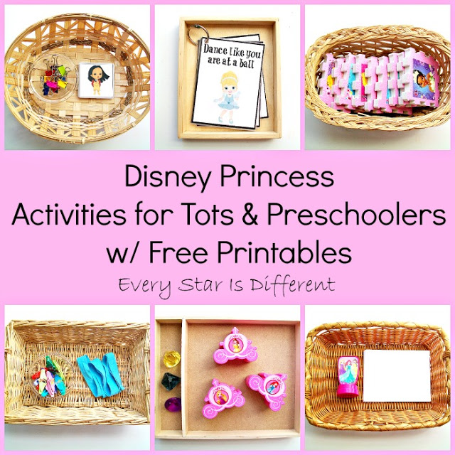 FREE Disney Inspired Learning Printable Packs & Activities - Every Star Is  Different
