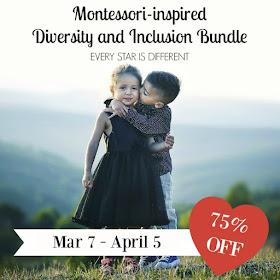 Montessori-inspired Diversity and Inclusion Bundle