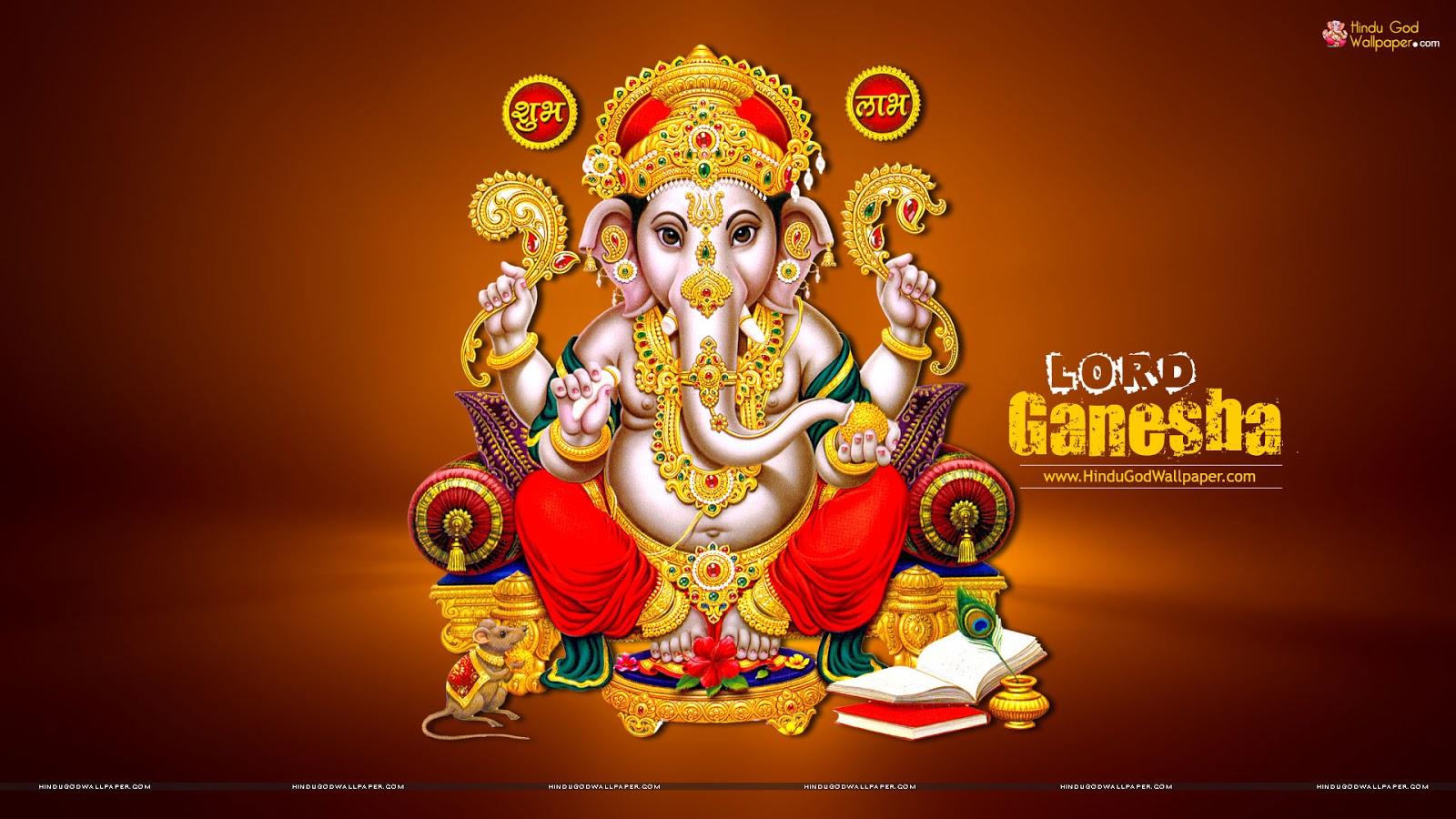 Hd wallpaper vinayagar - God Ganesha Wallpaper Images