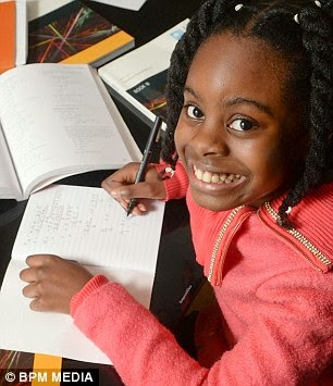 Amazing 10 year old Nigerian girl accepted on university course in the UK to study maths degree