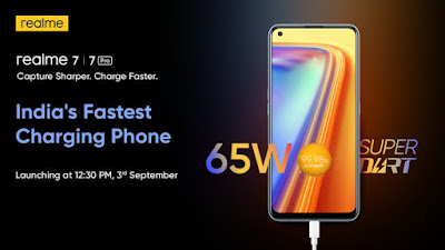 Realme 7, Realme 7 Pro to launch in India on September 3