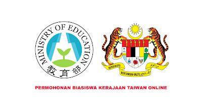 Permohonan Biasiswa Kerajaan Taiwan 2020 Online