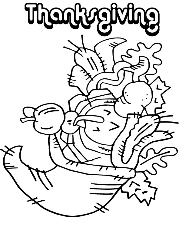 Thanksgiving Coloring Pages: September 2010