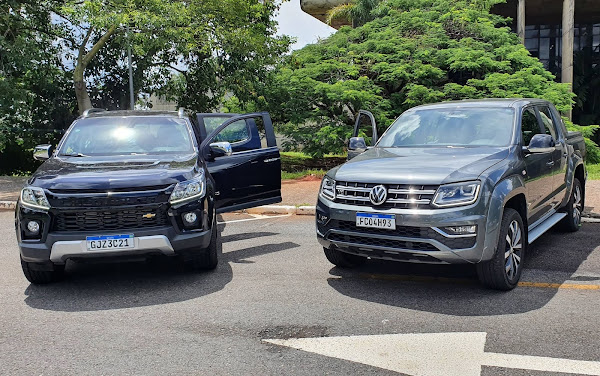 VW Amarok V6 x Chevrolet S-10 High Country
