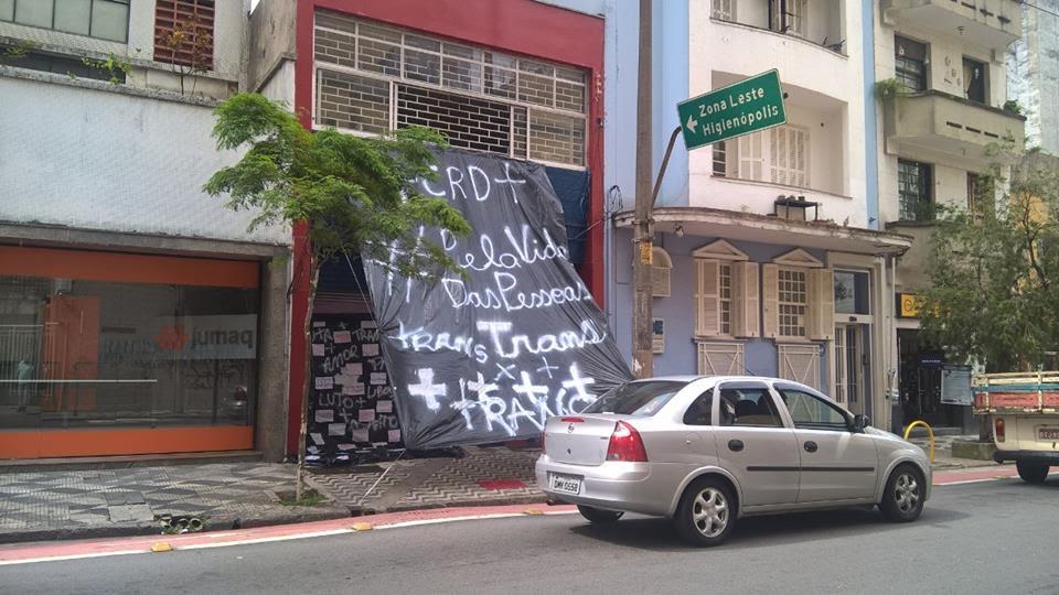 Em forma de protesto, Centro da Diversidade em São Paulo muda de cor