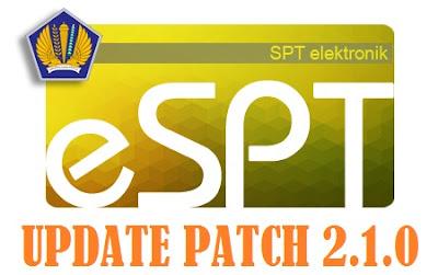 update e-spt pph 4 ayat 2 versi terbaru
