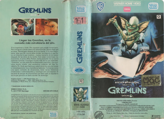 "Pelicula: ""Greemlins"" - 1984"
