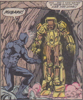 Shouldn't you wear pants with your armored suit?