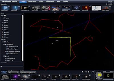 موقع التلسكوب العالمى AAS WorldWide Telescope