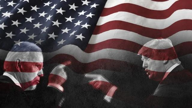 Pendukung Trump Ayunkan Senjata, Massa Biden Menari di Jalan