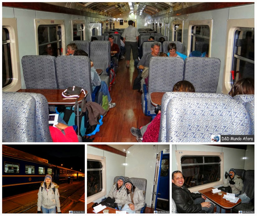 Trem Expedition em Ollantaytambo - Peru - City tour Vale Sagrado