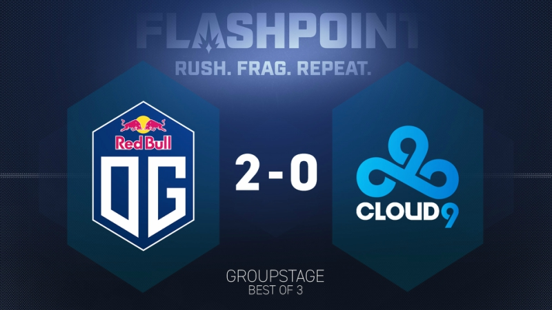 Cloud9 'Colossus' debut was very disappointing in Flashpoint 2