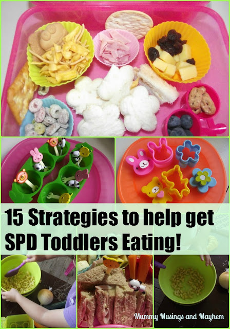 Eating for SPD toddlers