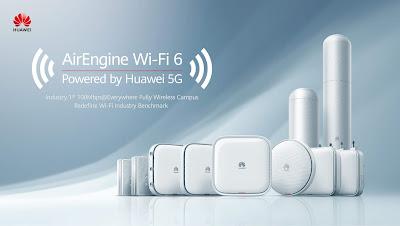 Huawei เปิดตัวผลิตภัณฑ์ Wi-Fi 6 ขุมพลัง 5G บุกตลาดเอเชียแปซิฟิก