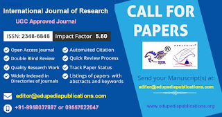 UGC Approved Journal: IJR: Call for Papers