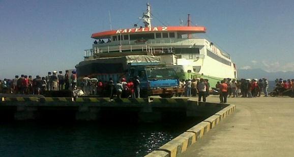 Kapal Rafelia II Terbenam di Selat Pulau Bali, Beberapa puluh Mobil di dalamnya Hilang