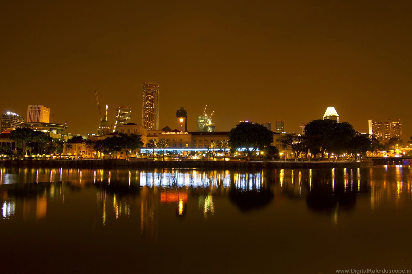 Asian Civilizations Museum Singapore,Singapore Night Photography