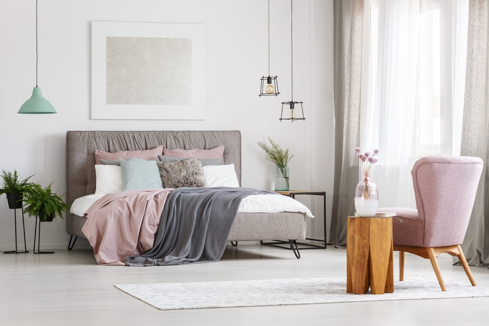 How to use soft furnishings to transform your bedroom and aid a good nights sleep