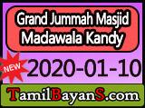 Turning Towards Allah Is The Solution For All Problems By Ash-Sheikh Mufti Abdullah (Hashimi) Jummah 2020-01-10 at Grand Jummah Masjid Madawala Kandy