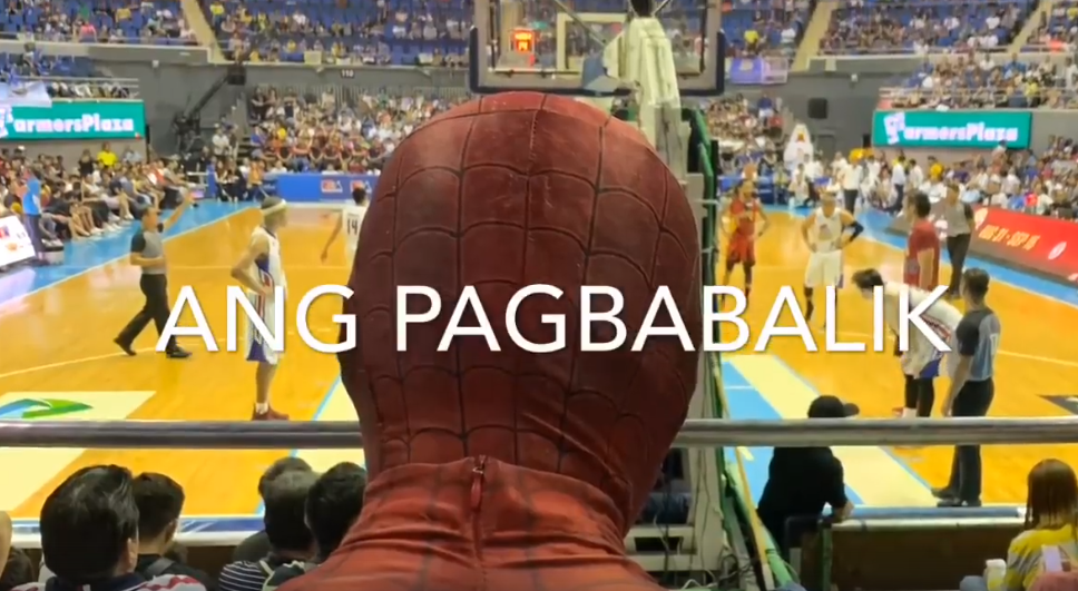 Pinoy 'Spiderman' in PBA Disruption Goes Back to Jail to Bring Free Pizza