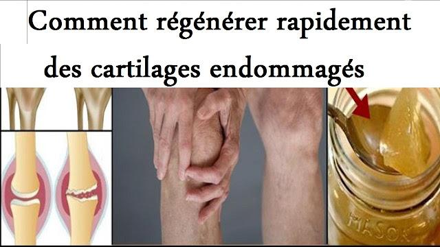 Voici comment régénérer votre cartilage du genou!