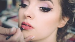 Angel Portrait. Make-up and Fashion
