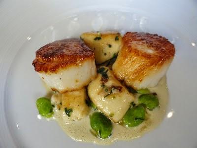 The Passionate Foodie: SENA15: Maine Dayboat Scallops & Merroir