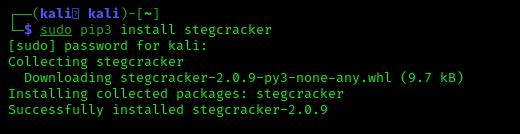 installing stegcracker on kali linux