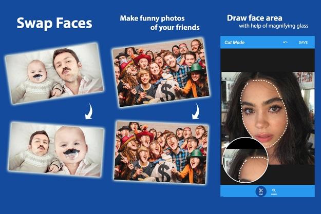 αλλαγή προσώπου σε φωτογραφίες