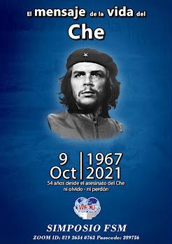 """Simposio Internacional de la FSM – El mensaje de la vida y lucha de Ernesto """"Che"""" Guevara"""