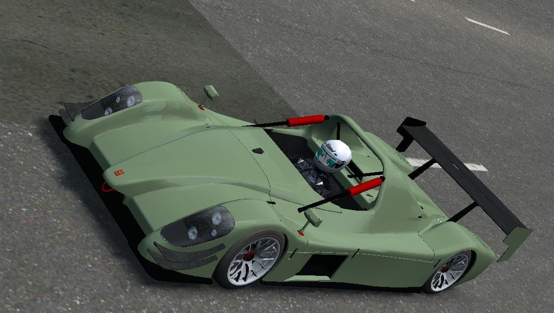 LFS ModSkin: FBM - Radical SR8 Supersport
