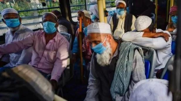 निजामुद्दीन मरकज में शिरकत करने के वाले 280 मुस्लिमों के पास गलत वीजा