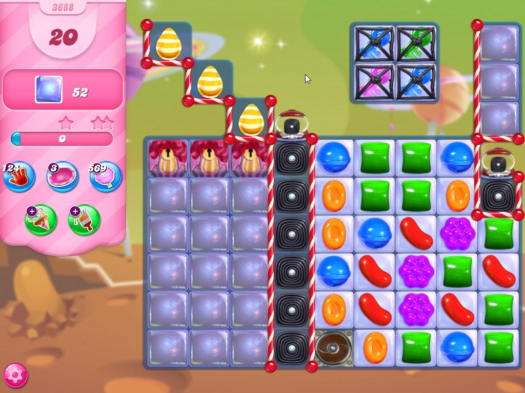 Candy Crush Saga level 3688