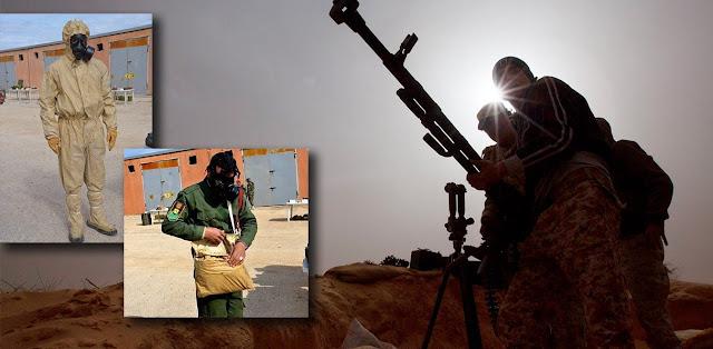 Τρόμος στη Λιβύη με την παρουσία πολεμικών πλοίων και πληροφορίες για χημικά όπλα