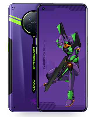 Terbaru! Limited Edition OPPO - EVANGELION, PRODUK OPPO ACE 2, EVANGELION, OPPO LIMITED EDITION, OPPO ANIME CONCEPT