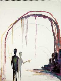 Last Day on Earth, pintura de Marilyn Manson.