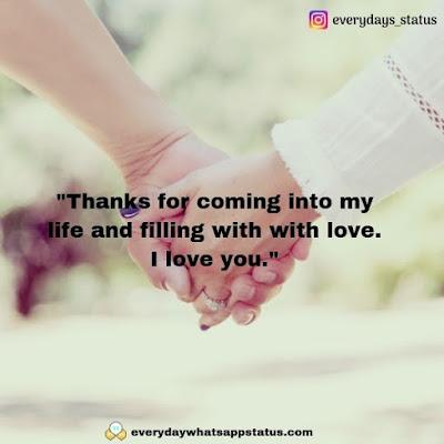 romantic quotes   Everyday Whatsapp Status   Unique 50+ love quotes image about life