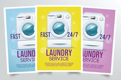 Brosur laundry kiloan