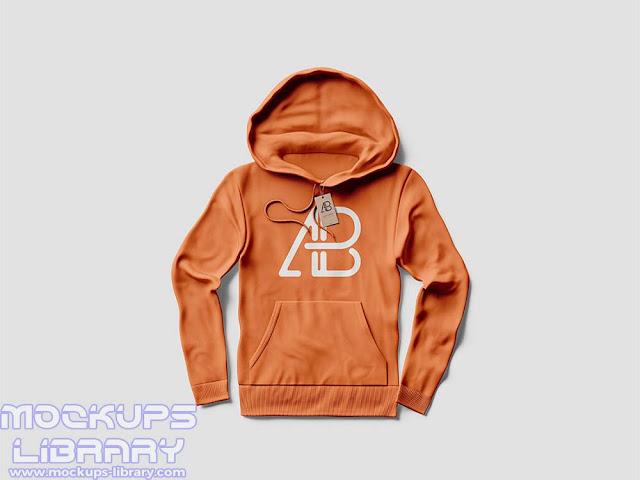 free hoodie mockup psd 3