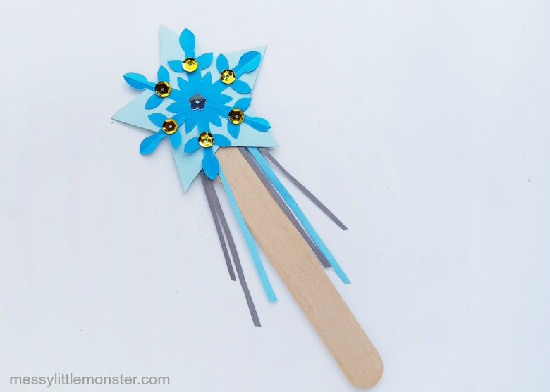 elsa wand craft