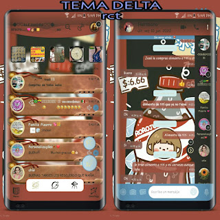 CocaCola Theme For YOWhatsApp & Delta WhatsApp By Ale