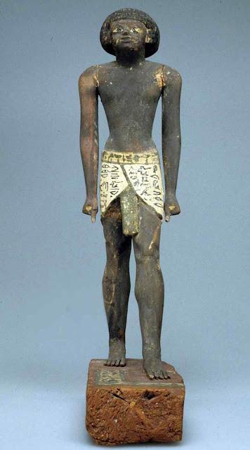 Eatueta que representaria ao capataz Merer,  Metropolitan Museum of Art, New York