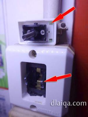 switch (tombol) saklar rusak
