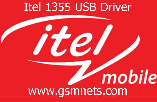 Itel 1355 USB Driver Download